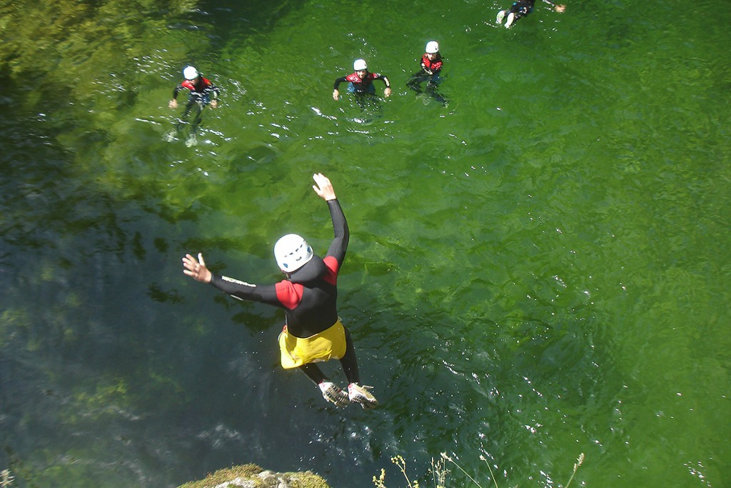 Canyoning in Ardeche