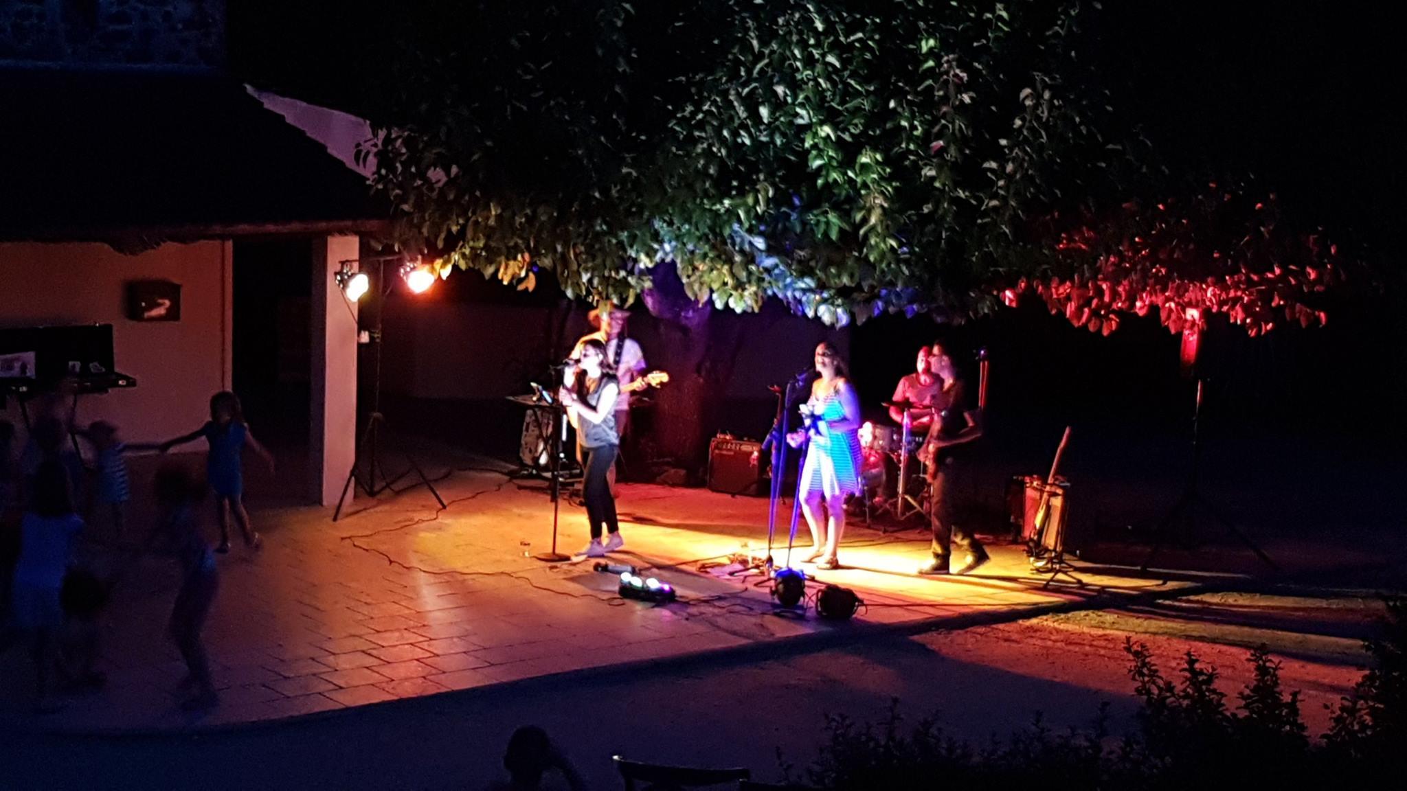 Concert Olivia Dorato au camping