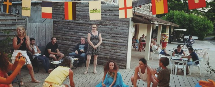 Cours de danse orientale au Ludo Camping