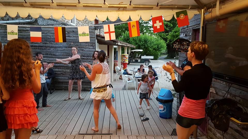 Danse orientale au Ludo Camping