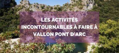 Pont d'arc naturel en Ardèche